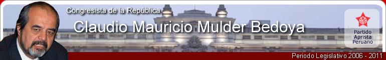 Claudio Mauricio Mulder Bedoya