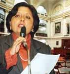 Congresista Fabiola Morales