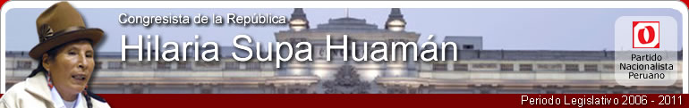 Hilaria Supa Huamán