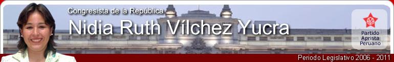 Nidia Ruth Vílchez Yucra